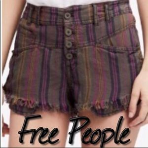 Free People Morning Rain Shorts NWT 8